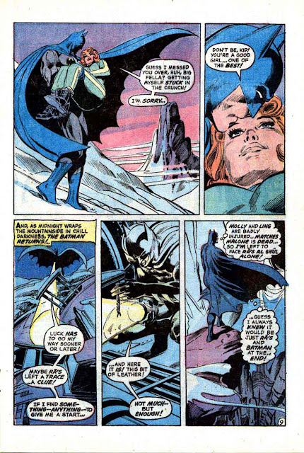 Batman v1 #244 dc comic book page art by Neal Adams