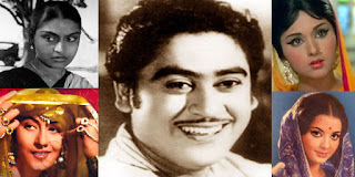 kishor kumar with all wives