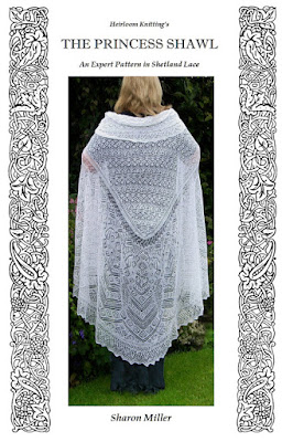 http://www.ravelry.com/patterns/library/the-princess-shawl The princess shawl, a hand knit wedding veil shawl