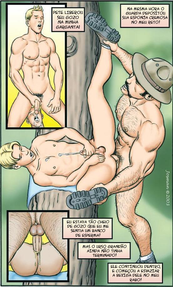 Cartoon Gay; Hentai; Quadrinhos;