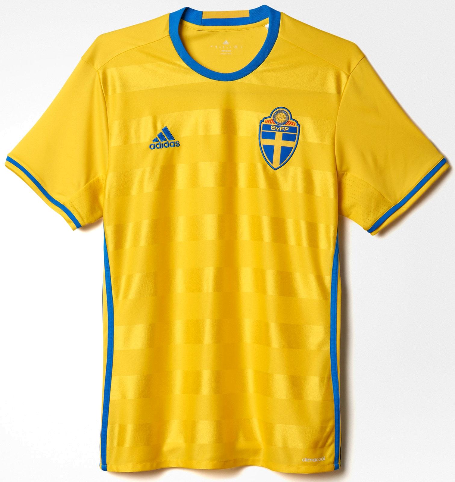 107308634b Adidas apresenta nova camisa titular da Suécia - Show de Camisas