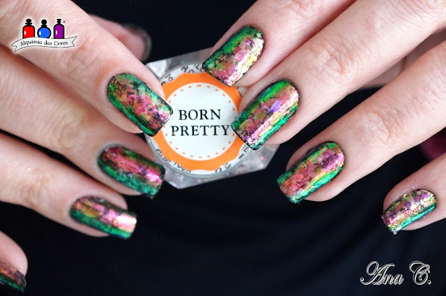 Born Pretty, Colorful Nail Flakies, 39810-3