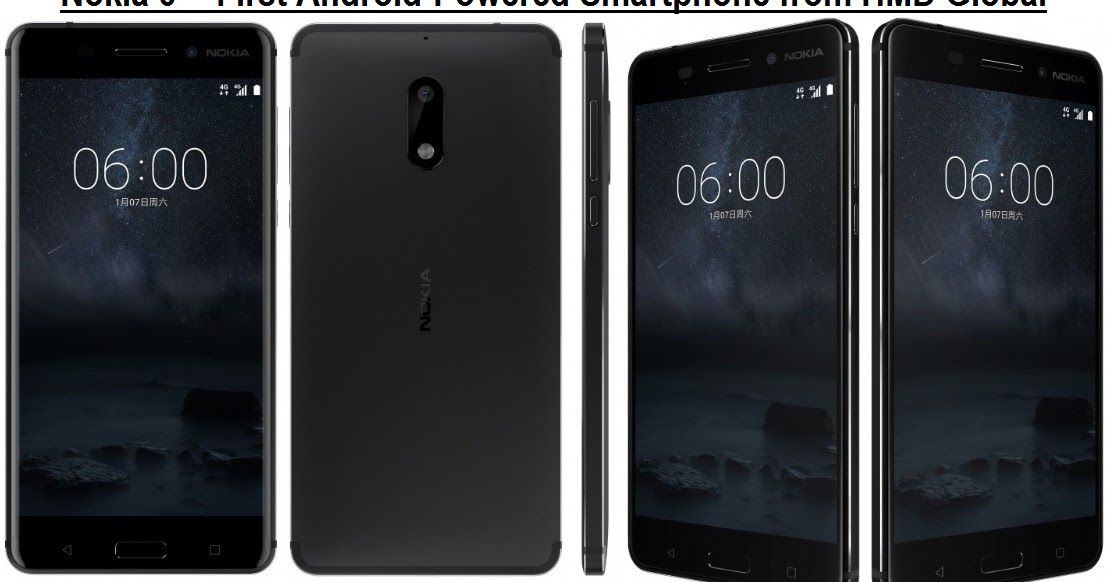 nokia  specs  features  android nougat powered smartphone  hmd global