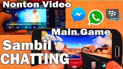 Bermain Game dan Nonton Video