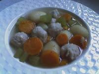 Resep Masak Sayur Sop Bakso Spesial