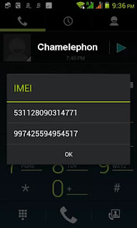 Chamelephon to fix imei