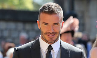 David Beckham banned for six months for using a cell phone driving.