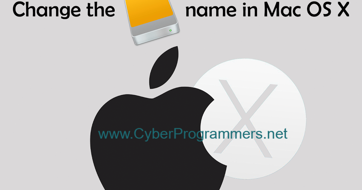 how to change mac name