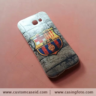 custom case logo Barca