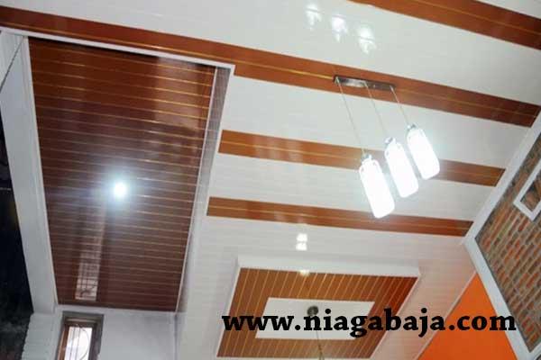HARGA PLAFON PVC BANDAR LAMPUNG, JUAL PLAFON PVC BANDAR LAMPUNG, HARGA PLAFON PVC PER METER BANDAR LAMPUNG TERPASANG 2018