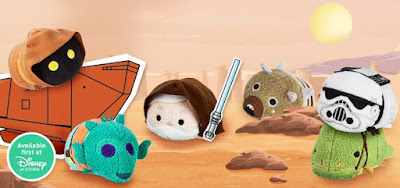 Star Wars Tsum Tsum Tatooine Plush Collection by Disney