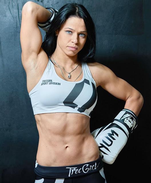 Mma Women Lena Ovchynnikova - Female Mma Fighter-5778