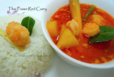 Thai Prawn Red Curry
