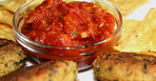 Luxuriously Thick Spicy Tomato Chutney