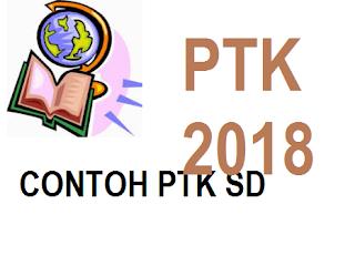 Contoh PTK SD kelas iv