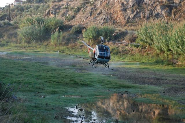 Ψεκασμοί για τα κουνούπια σε Νέα Κίο -Τημένιο, Μύλους, Άργος, Κιβερί, Ν. Τύρινθα και Δρεπάνο