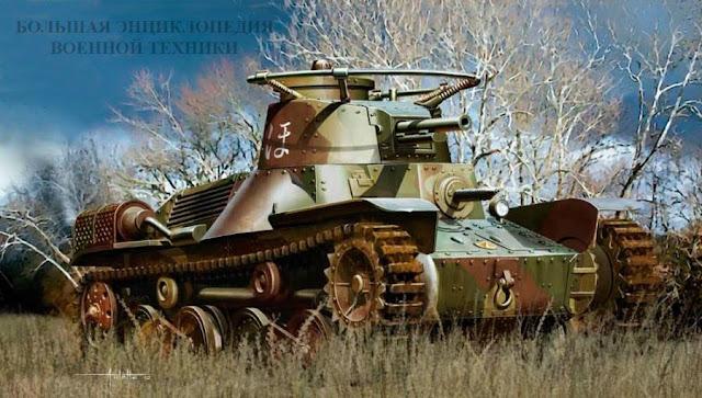 Легкий танк «ТИП 4» («КЕ-НУ»)