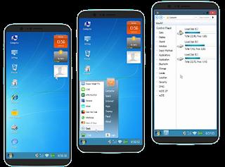 Merubah Tampilan Android Menjadi Windows7 Tanpa Root