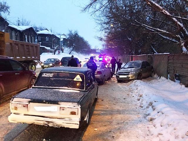 В Уфе в ДТП пострадал 9-летний ребёнок