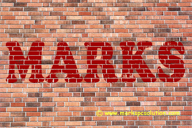 Blending Text with Brick Wall
