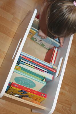 rangement design pour chambre d'enfants