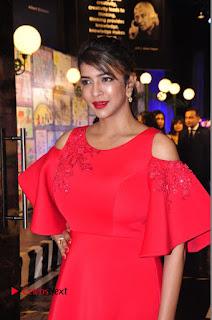 Actress Manchu Lakshmi Pictures in Red Long Dress .COM 0065.JPG