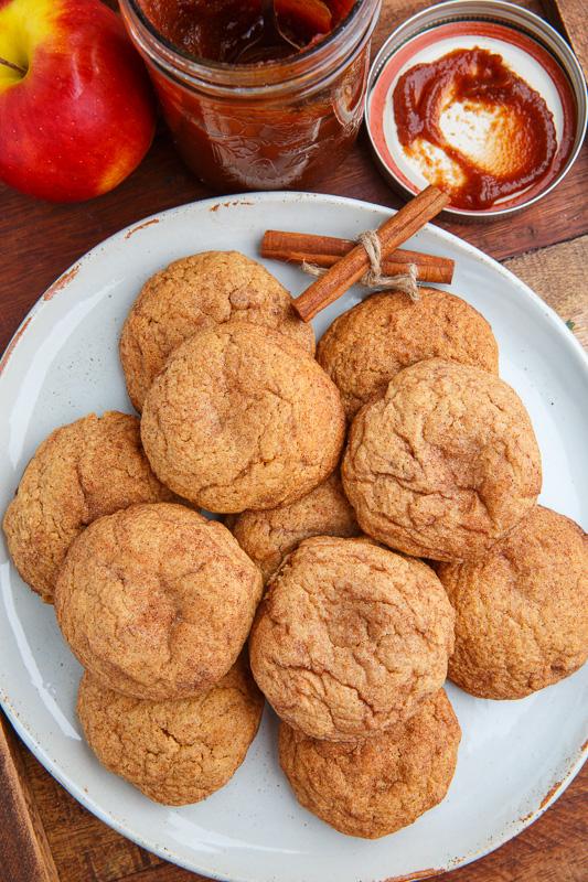 Caramel Apple Snickerdoodles