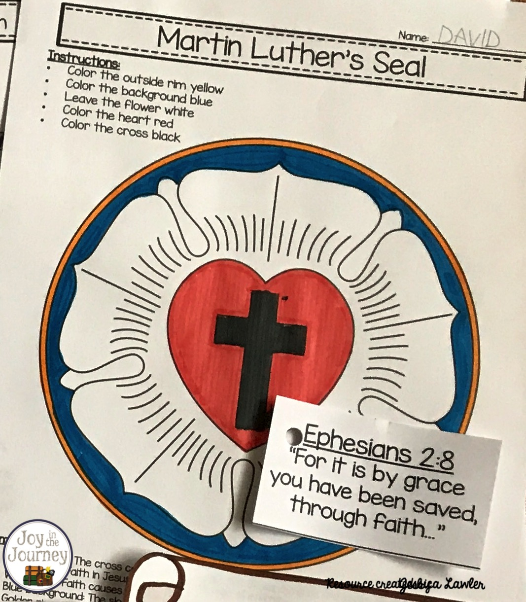 Martin Luther And The Protestant Reformation Preschool