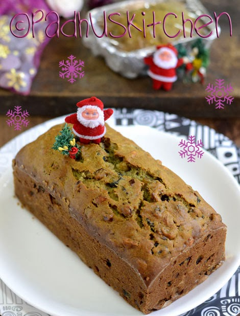Easy Christmas Fruit Cake Recipe Without Alcohol
