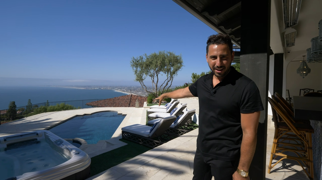 33 Photos vs. 824 Vía Del Monte, Palos Verdes Estates, CA vs. Oceanfront Mansion Interior Design Tour By Josh Altman