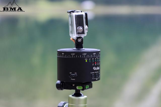 360 photography - 360 photo software - camalapse - dslr simulator - panoramic head - 360 lens - gopro - rollei stativ fotopro - Panorama Video