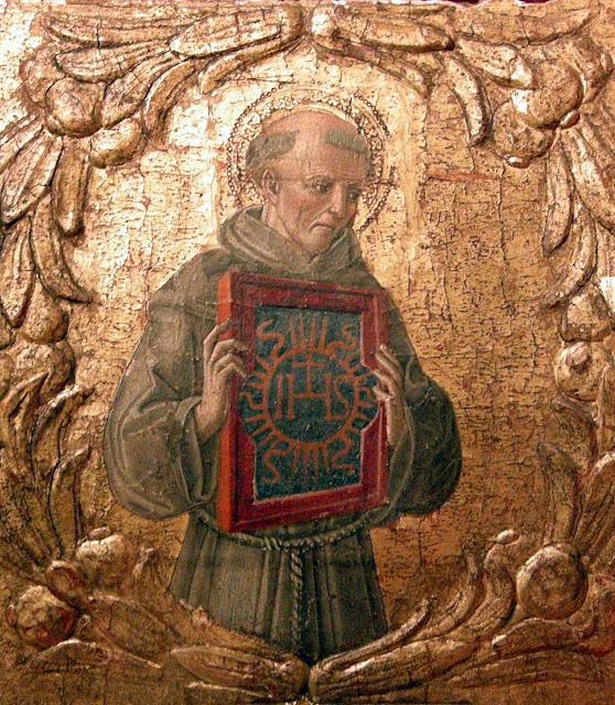 São Bernardino de Siena foi autor de muitas fábulas moralizadoras. Benvenuto di Giovanni (1436 - 1509-1518)
