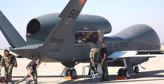 Ποια είναι τα «θηριώδη»Global Hawk των ΗΠΑ …Που έρχονται στη Λάρισα !!