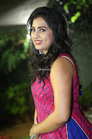 Srushti in beautiful Pink Sleeveless Dress Cute Actress Dimples ~  Exclusive 020.JPG