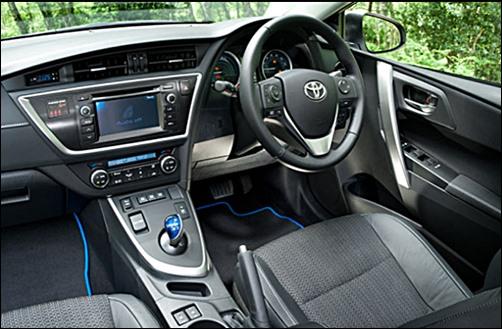 2018 Toyota Auris Hybrid Touring Sports United Kingdom
