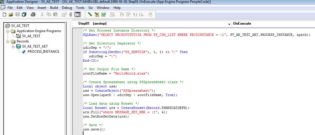 Sasank's PeopleSoft Log: Using PSSpreadsheet Class in App Engine