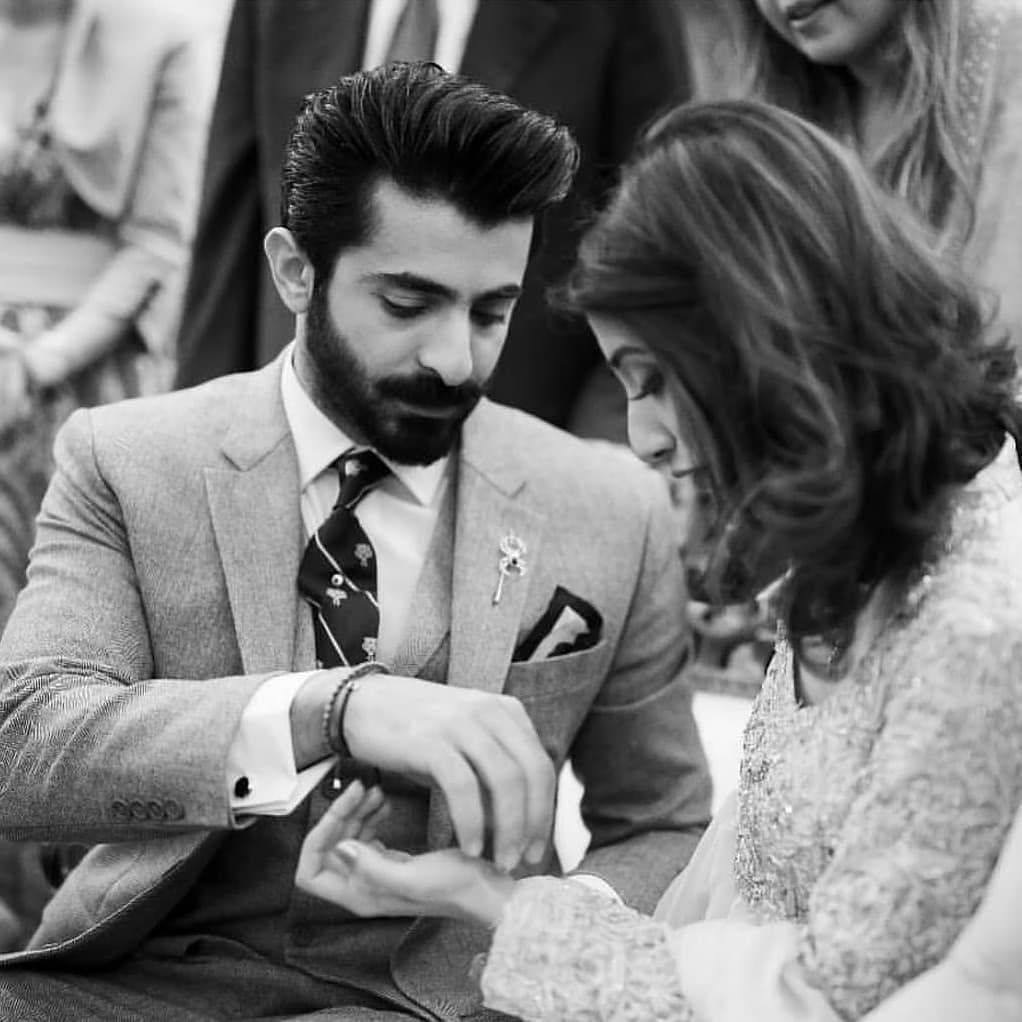 Sheheryar Munawar Officially Gets Engaged