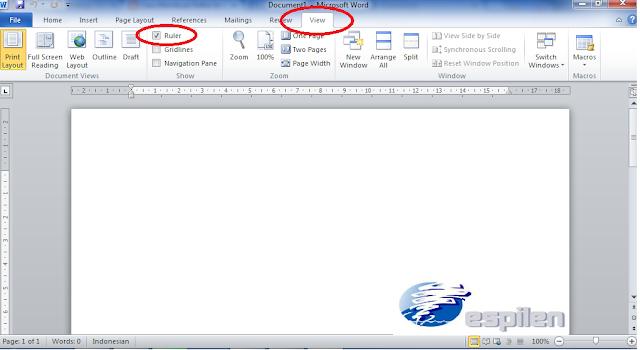 ataupun yang lainnya niscaya membutuhkan daftar isi Cara Membuat Daftar Isi Titik-Titik Otomatis di Ms. Word