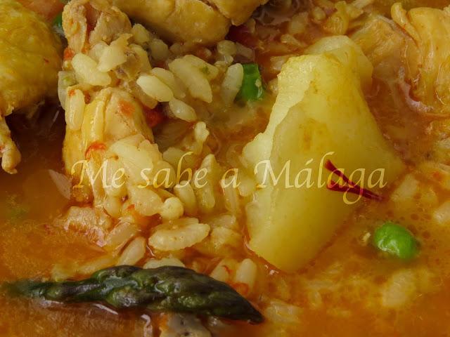 arroz en cazuela Axarquía Málaga