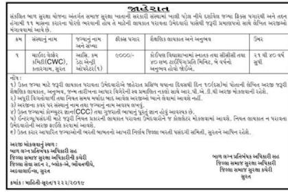 ICPS Surat Recruitment for Assistant cum Data Entry Operator Post 2019