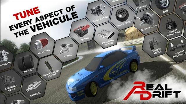 Game Simulator Menyetir Mobil Real Drift Car Racing Mod Apk