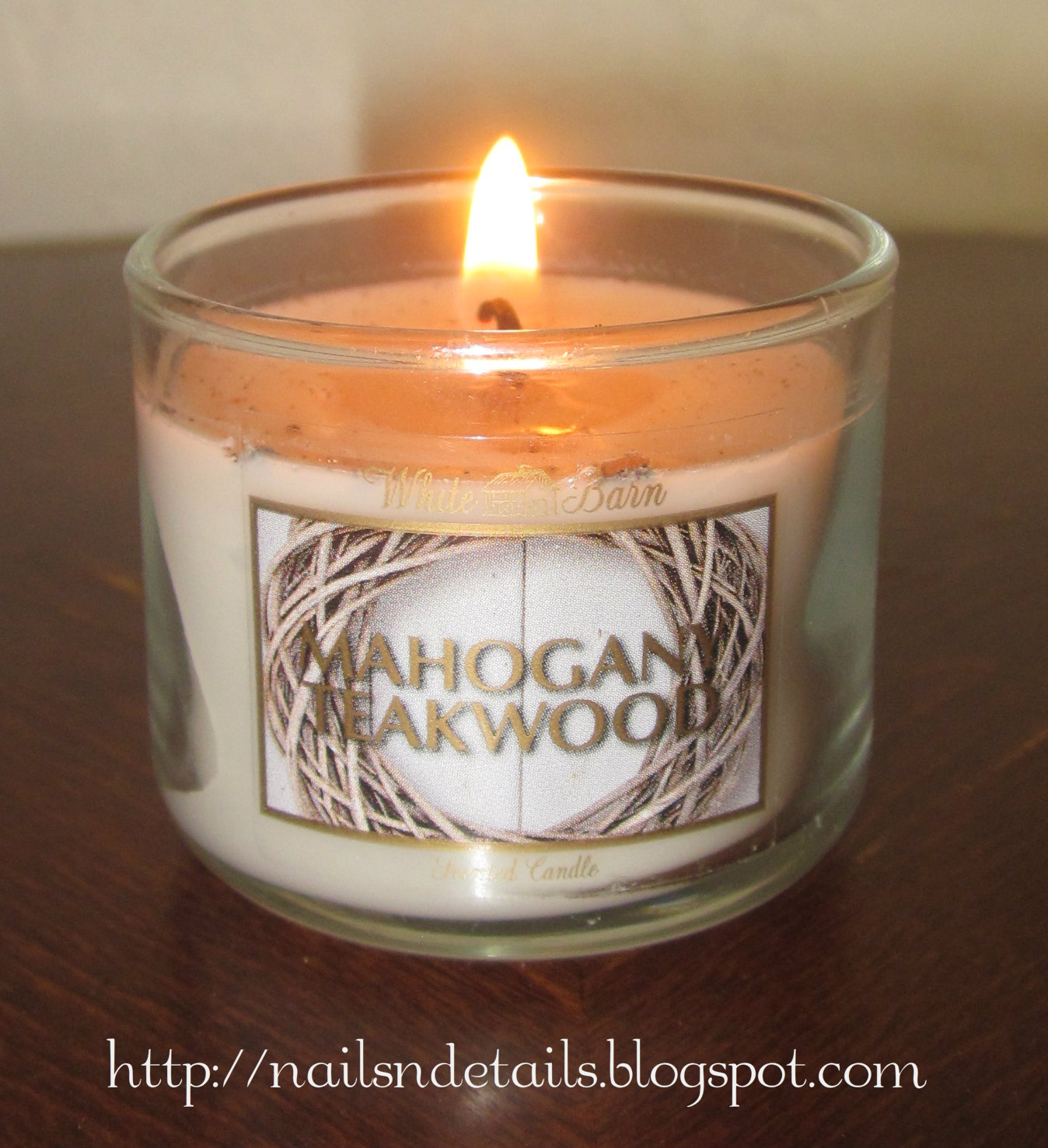 nails n details bath body works fall mini candle. Black Bedroom Furniture Sets. Home Design Ideas