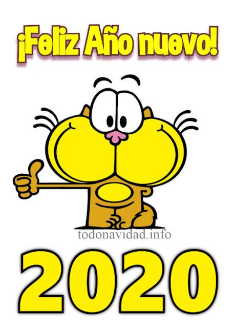 Gaturro feliz año nuevo 2020