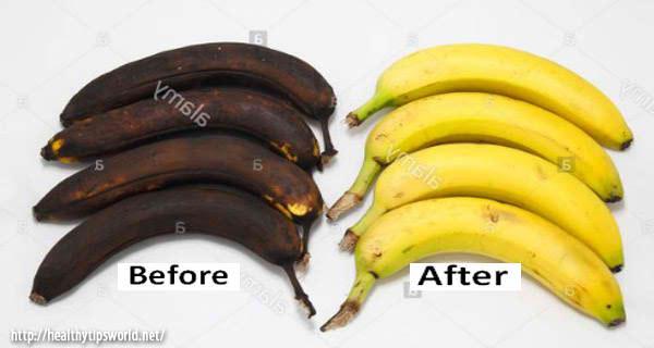 How to Make Your Rotten Banana Fresh Again