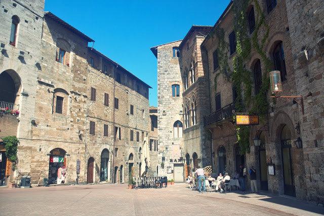lokalne winnice, Toskania