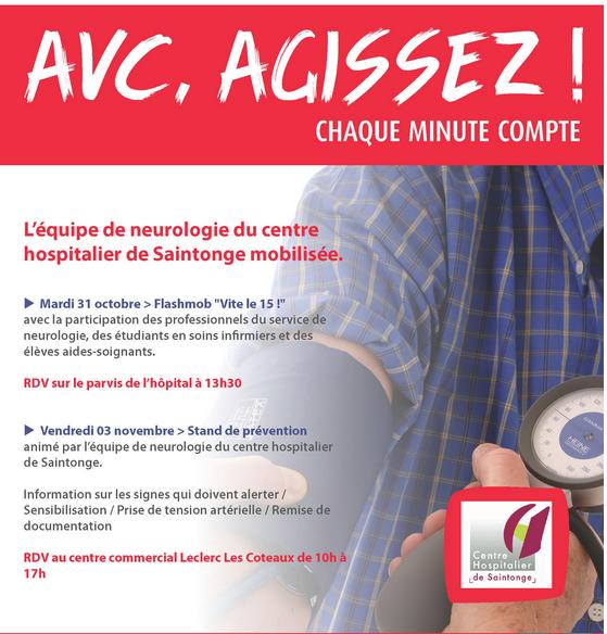 Lquipe De Neurologie Du Centre Hospitalier Saintonge Se Mobilise Pour La Prvention Lhypertension Artrielle Et Larythmie Cardiaque