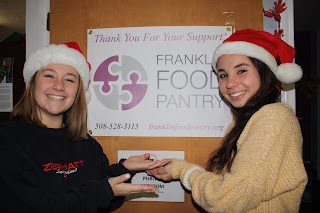 (left to right) Julia Buccella and Natalie Dextradeur, co-leaders of the Food Elves Campaign