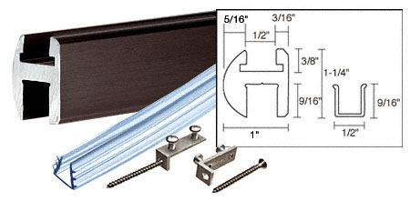 Shower Door Header Kit