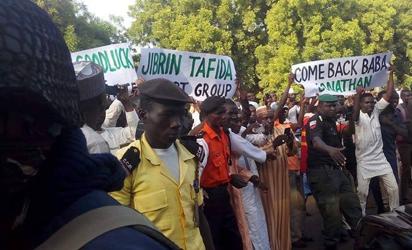 Goodluck Jonathan in Sokoto