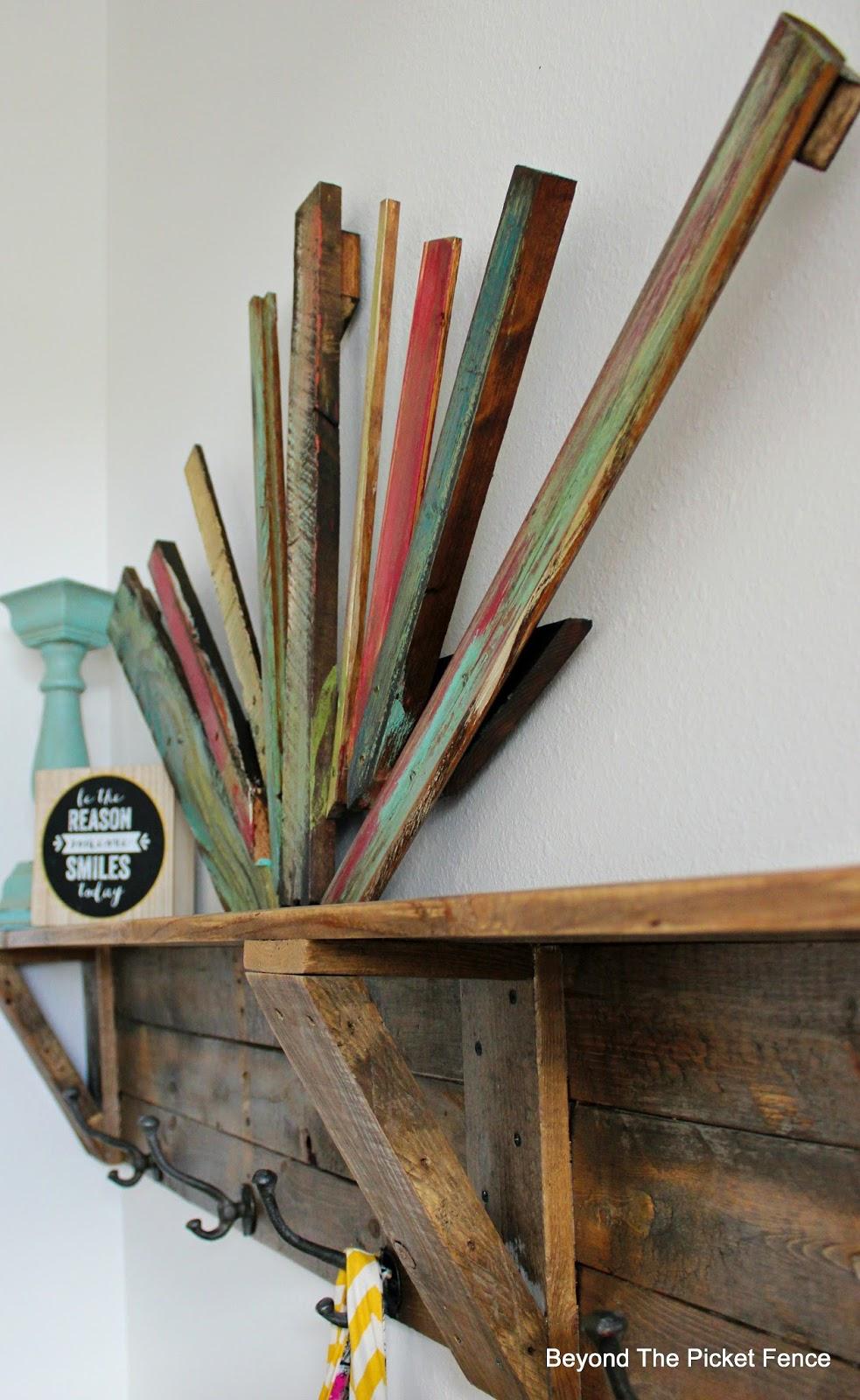 Beyond The Picket Fence Scrap Wood Art